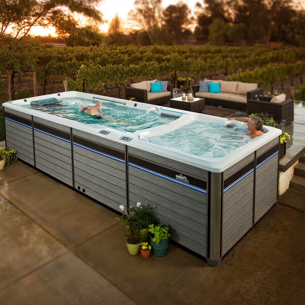 Awesome Benefits Of A Swim Spas Lap Pools Truckee
