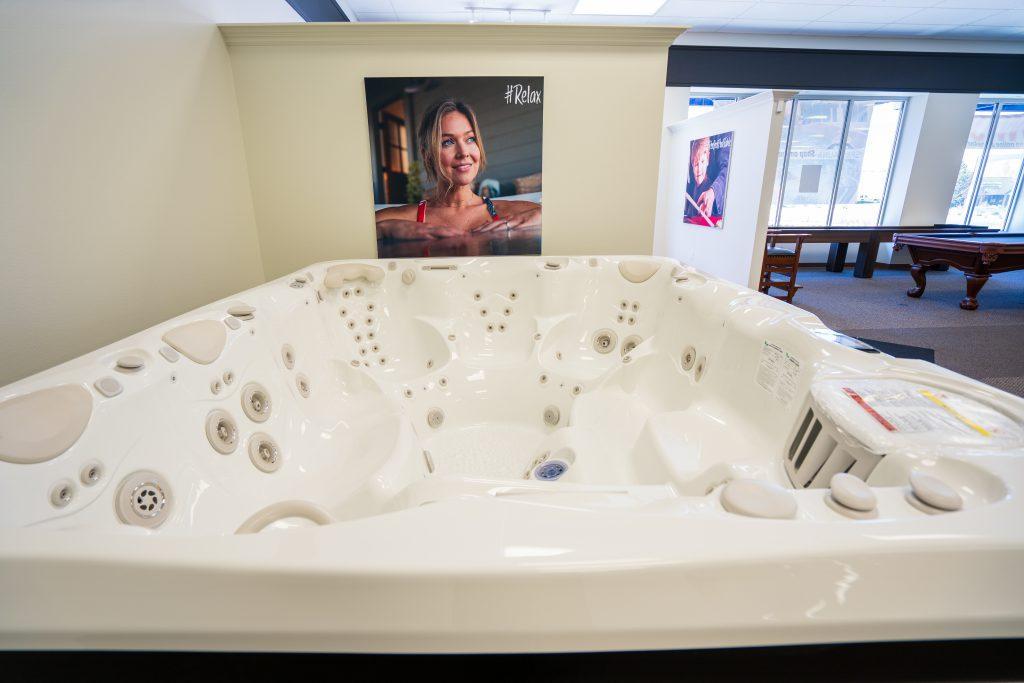 Large Caldera Hot Tub on sale in Carson City