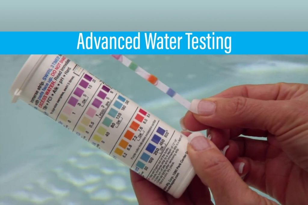 We now offer Free Advanced Water Care Testing