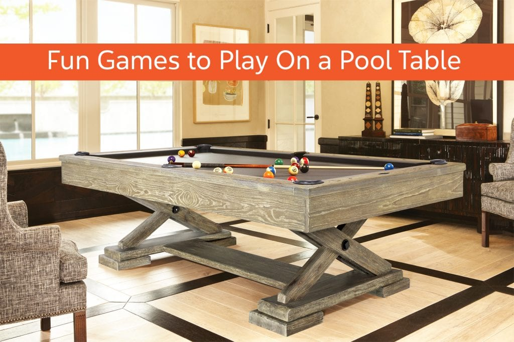 Fun Games to Play On a Pool Table