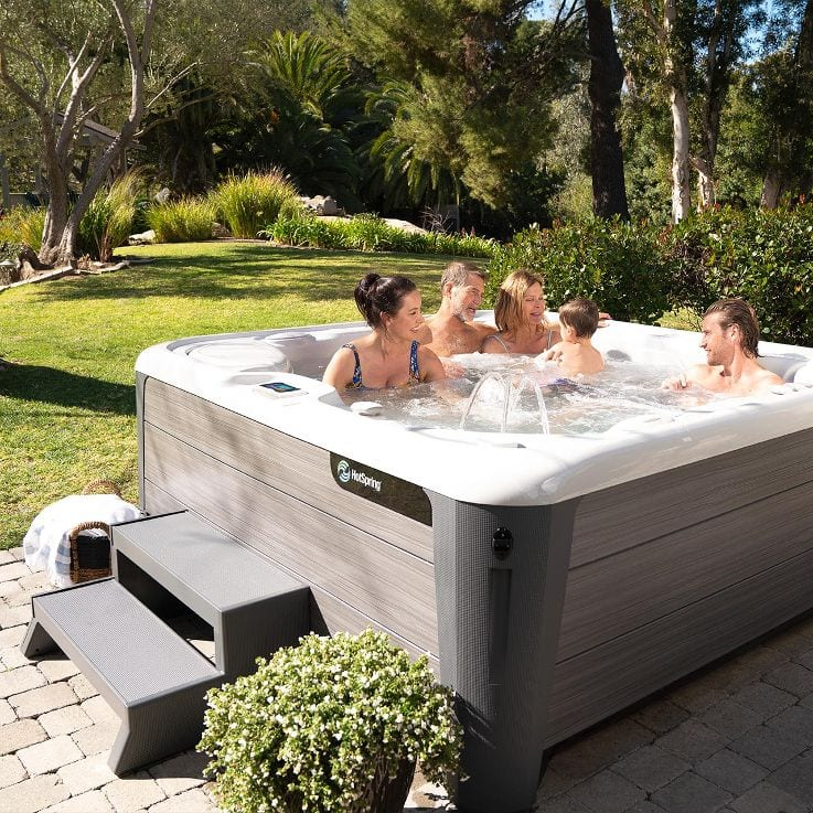 Family Time in a Hot Tub - How to Relax with Family, Reno, Sparks, San Jose, Santa Cruz