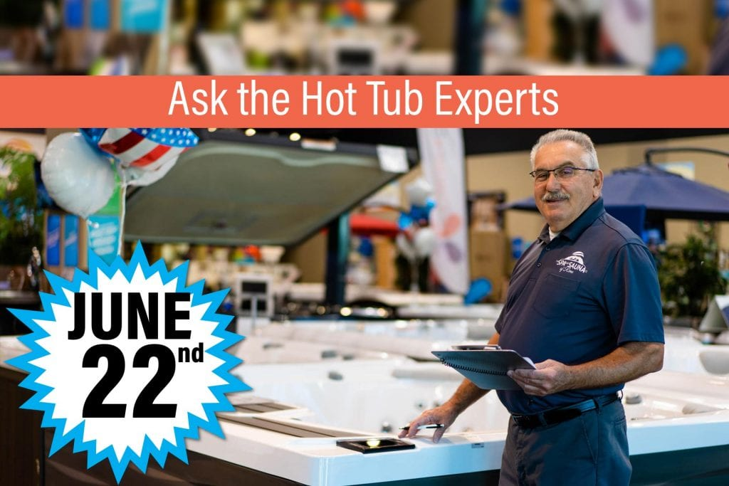 Hot Tub Care Questions Answered at Ask the Experts Event
