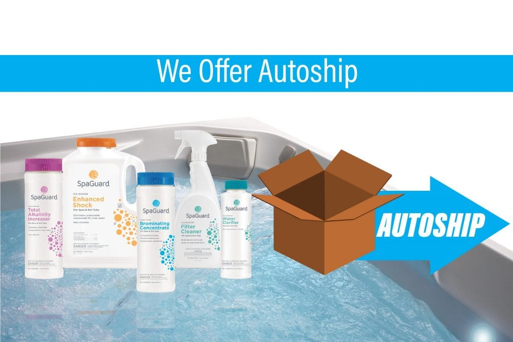 Autoship Program from Hot Tub Dealer Reno, Sparks, San Jose, Santa Cruz