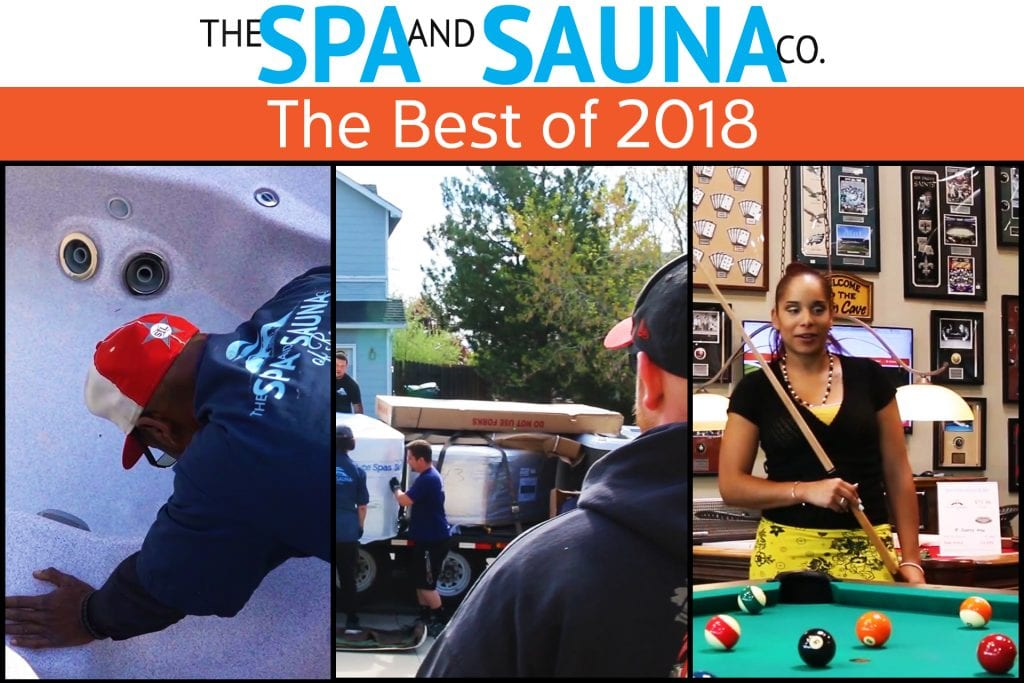 Best of 2018 Spa and Sauna Co.