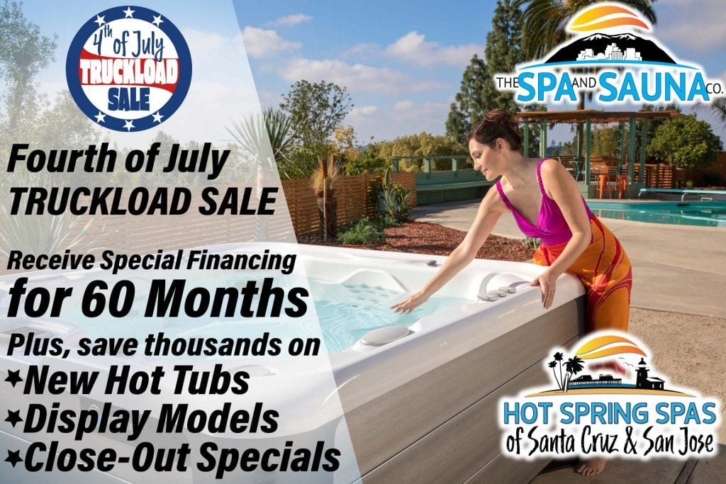 Hot Tub Truckload Sale