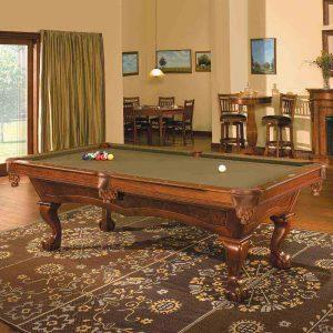 Danbury Pool Table in Room