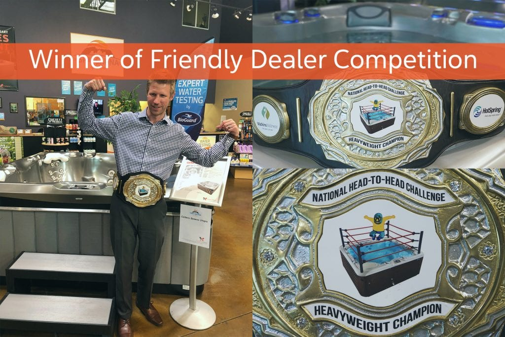 Winner of Friendly Dealer Competition