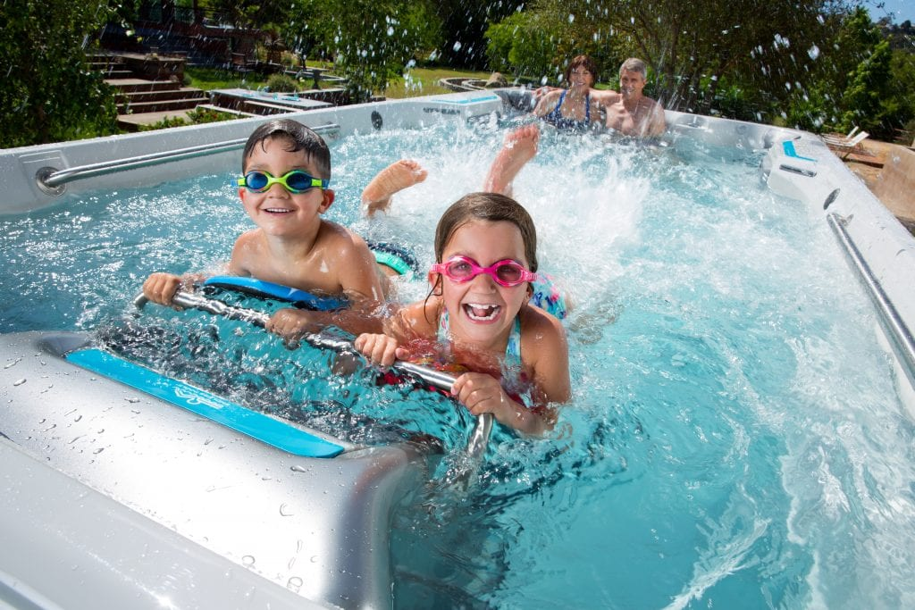 Enhance Family Time With Swim Spas Lake Tahoe Style!