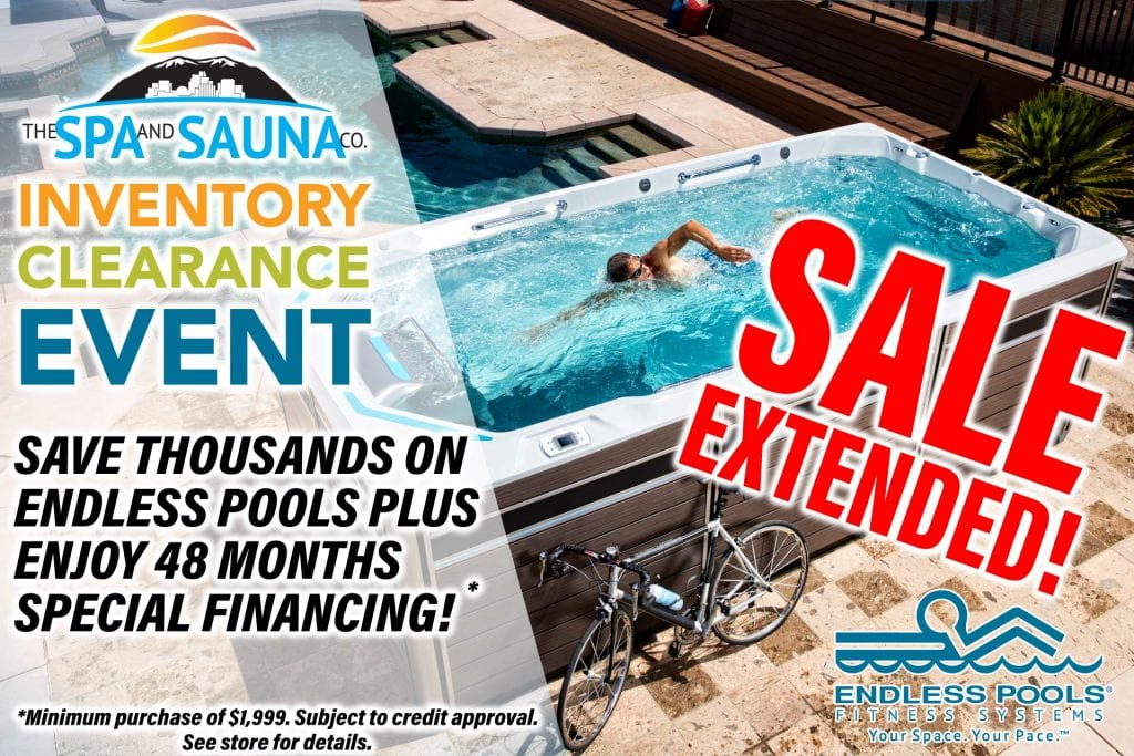 Endless Pools Inventory Clearance Extended-Swim Spa Sale Reno, Sparks, San Jose, Santa Cruz