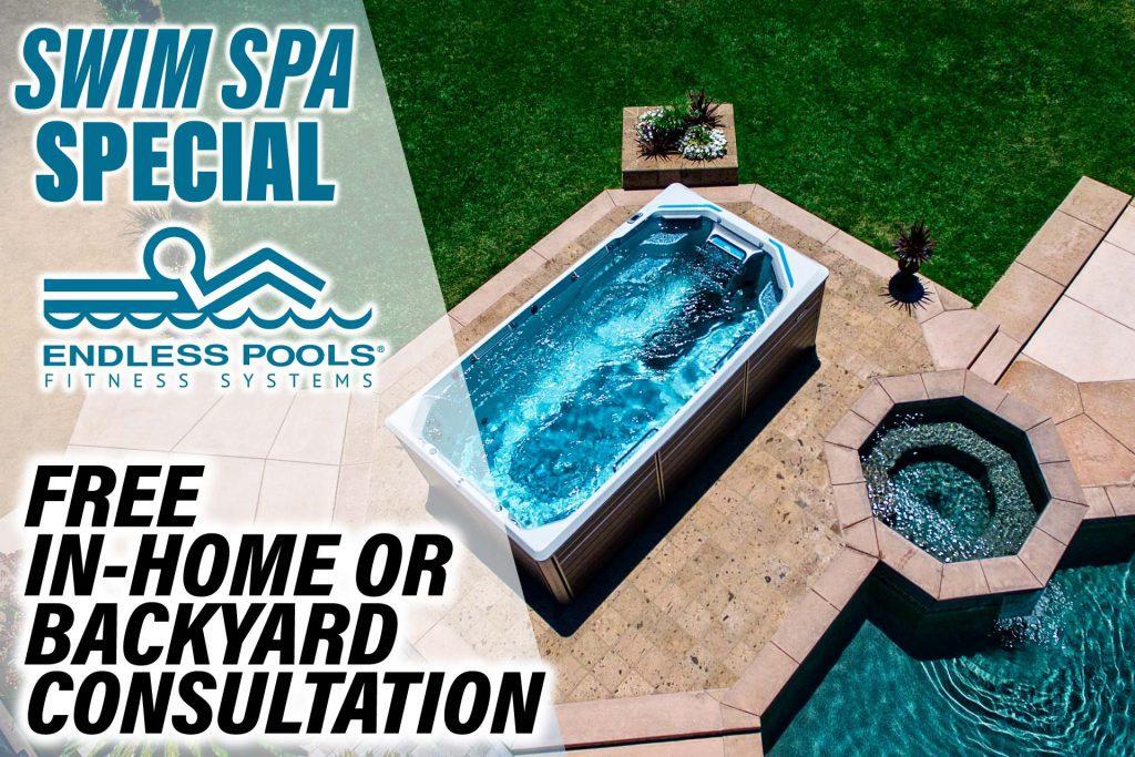 Swim Spa Special Landing Page