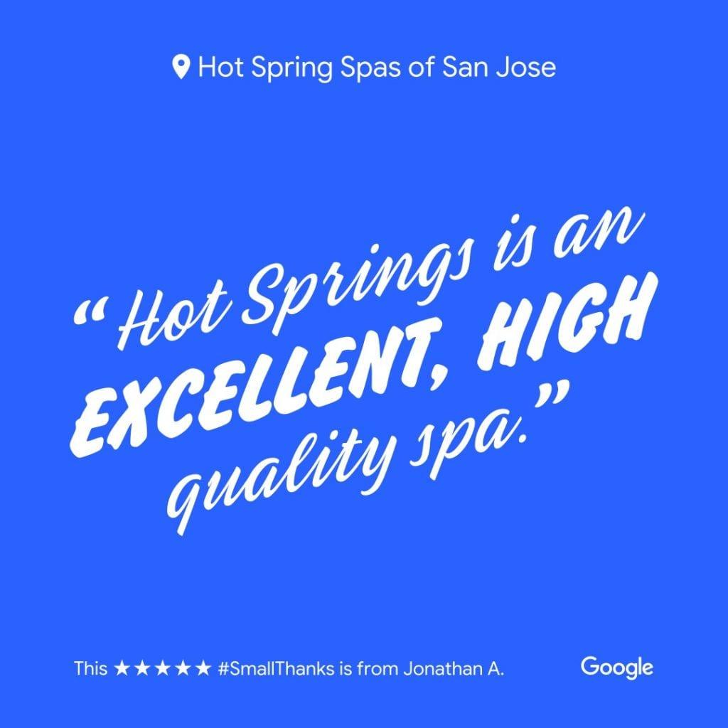 Hot Spring Spas of San Jose - Hot Spring Spas are High Quality Spas
