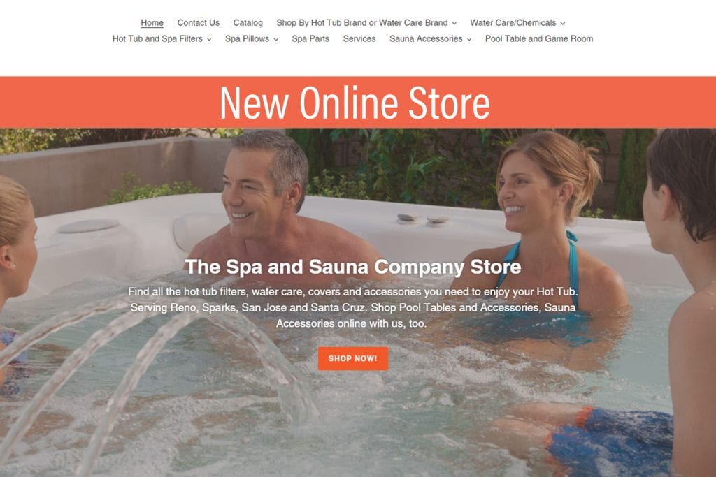 Hot Tub Store Online - Shop Spa Chemicals, Pillows Parts with your local hot tub expert in Reno, San Jose, Santa Cruz