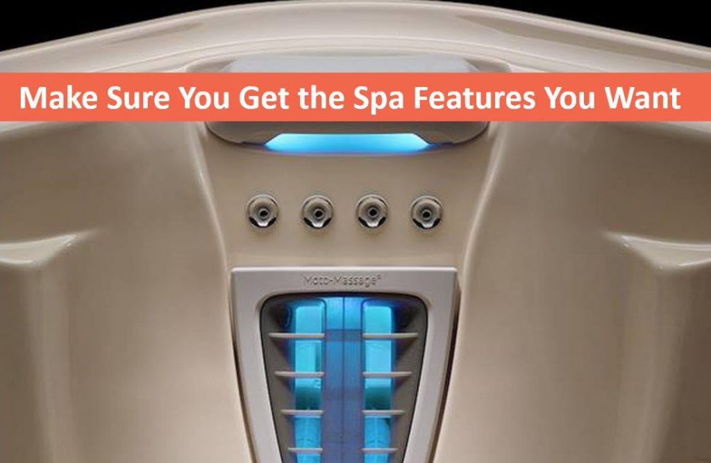 Spa Shopping? Make Sure You Get the Features You Want, Hot Tubs Aptos CA