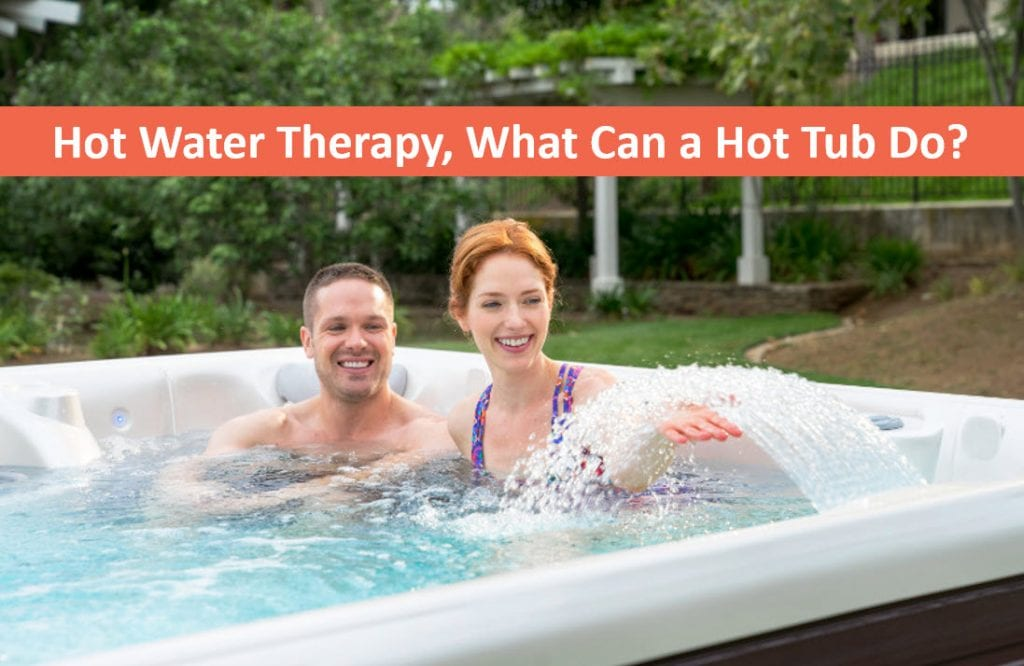 Hot Water Hydrotherapy, What Can a Reno Hot Tub do for You?