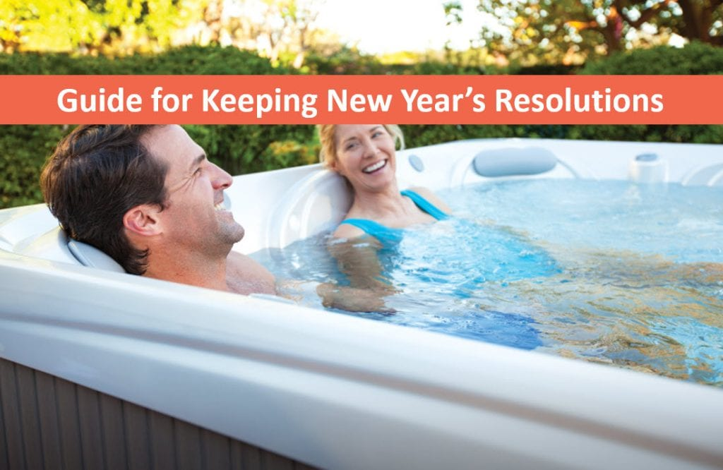 Soaking in a Hot Tub Makes Keeping Resolutions Easier, Hot Tubs Cupertino, San Jose