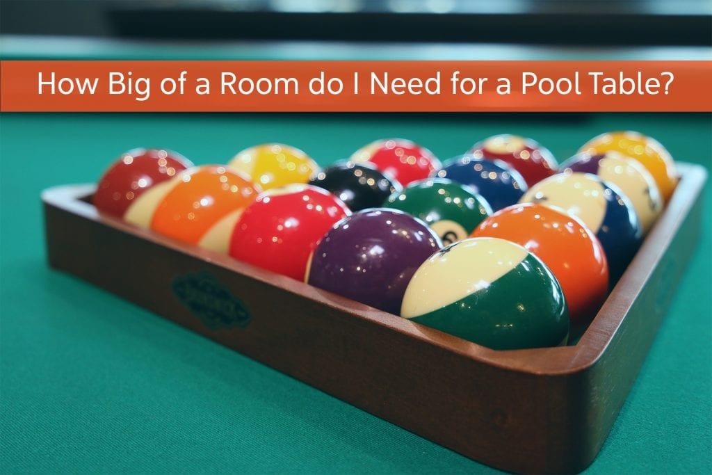 How Big of a Room do I Need for a Pool Table?