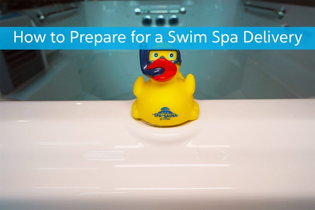 How to Prepare for a Swim Spa Installation and What to Expect on the Day of Installation