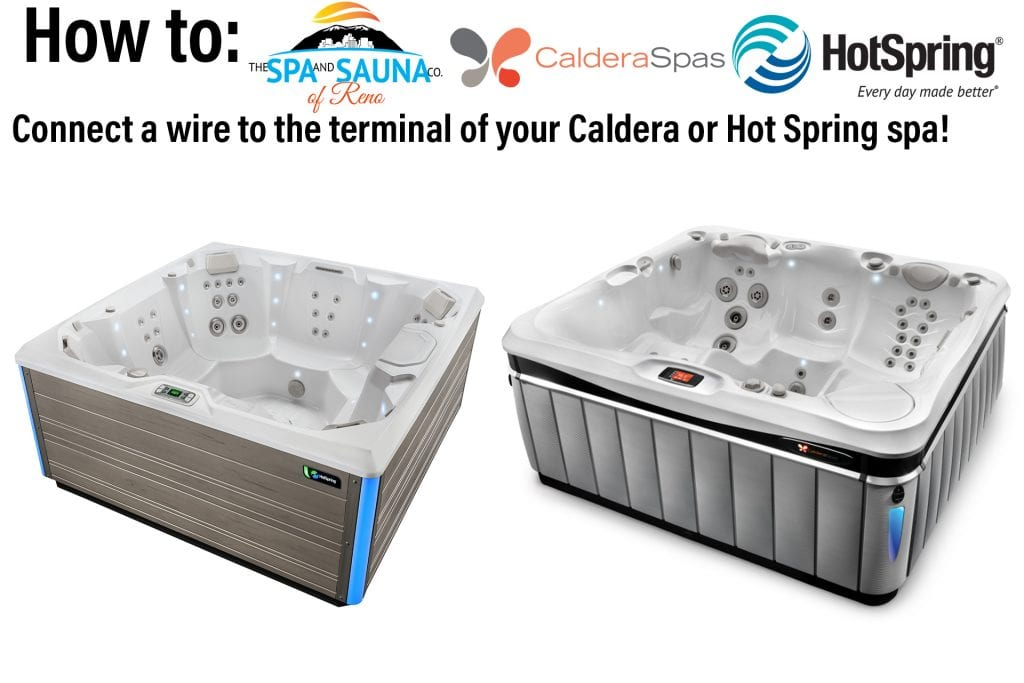 How to Connect Wires to the Terminal of Your Hot Spring or Caldera Spa