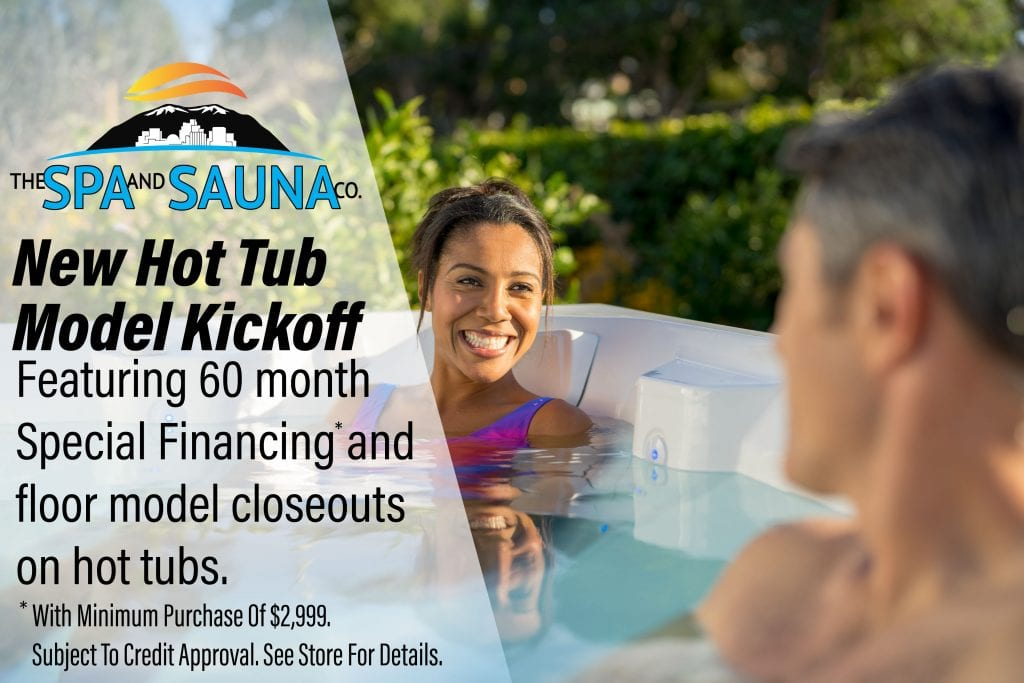 New Hot Tub Model Kickoff