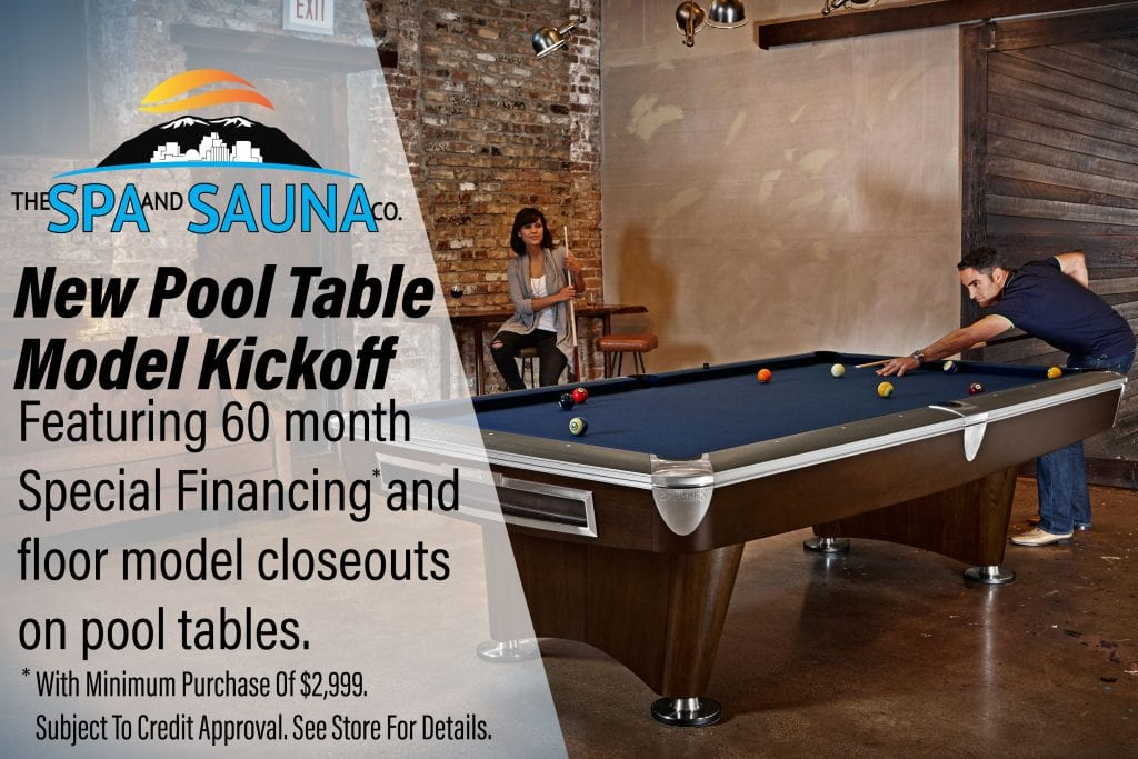 New Pool Table Model Kick-Off