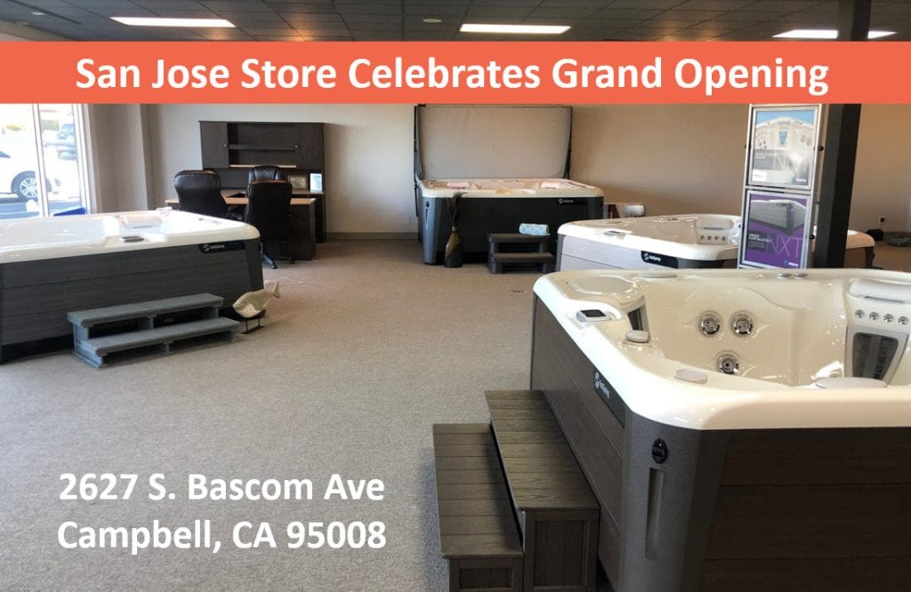 Hot Tubs, Swim Spas, Sauna Dealer San Jose Celebrates New Location Grand Opening