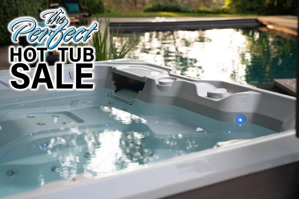 Perfect Hot Tub Sale Landing Page
