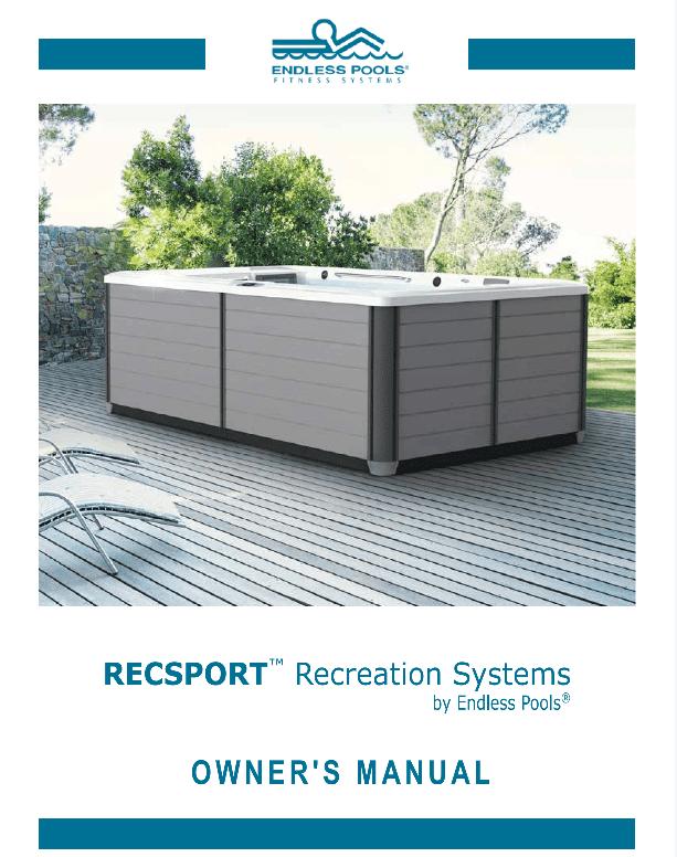 Endless Pools RecSport Owners Manual