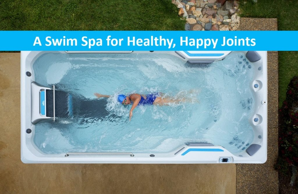 Reduce Back Pain, Relax & Massage in a Lap Pool – Swim Spa Sale Santa Clara, Exercise Spas