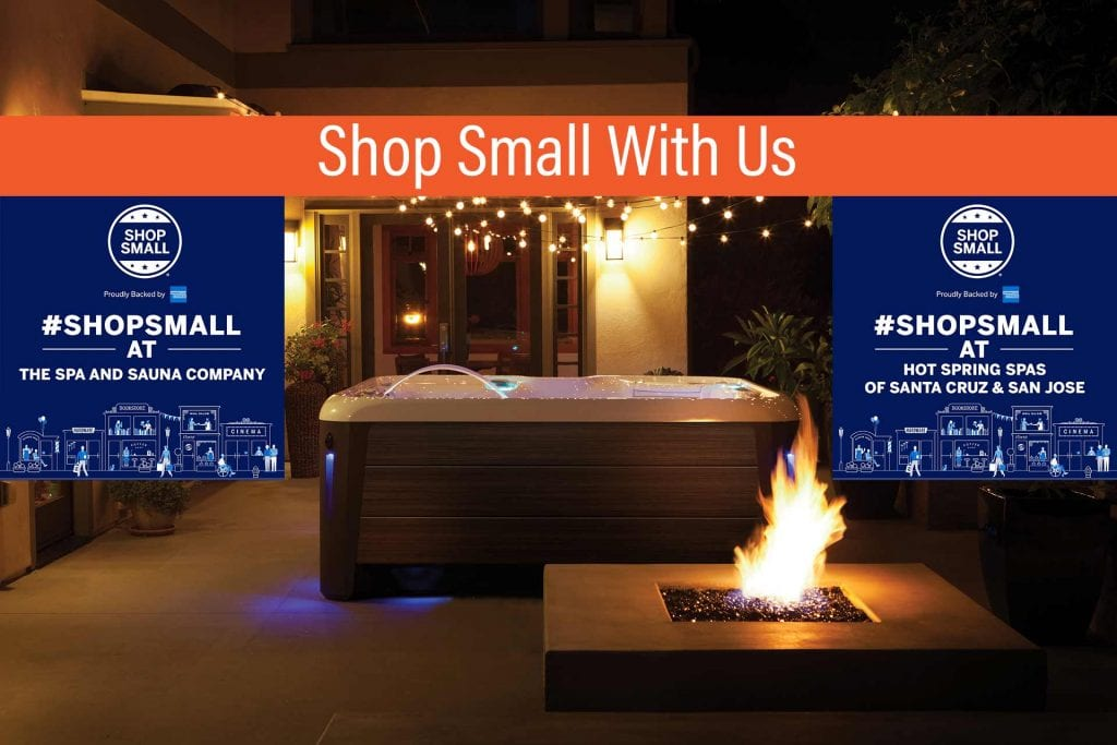Shop Local for your hot tub, sauna and swim spa needs