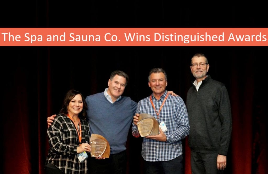 Hot Tub, Swim Spa Dealer Reno, The Spa and Sauna Company, Wins Distinguished Awards