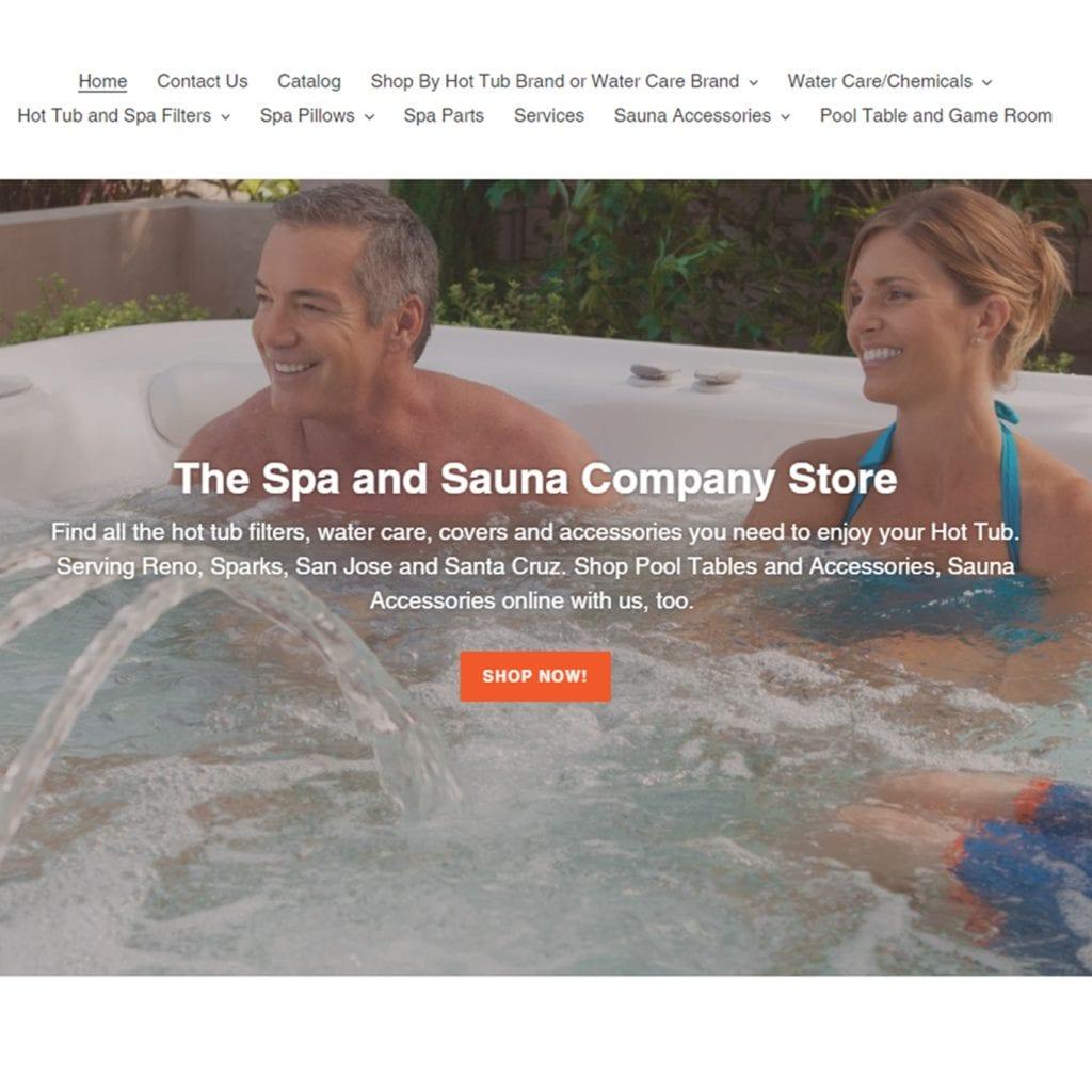 Spa and Sauna Online Store Shop Sauna Supplies - Hot Tub Supplies Reno, Sparks, San Jose, Santa Cruz