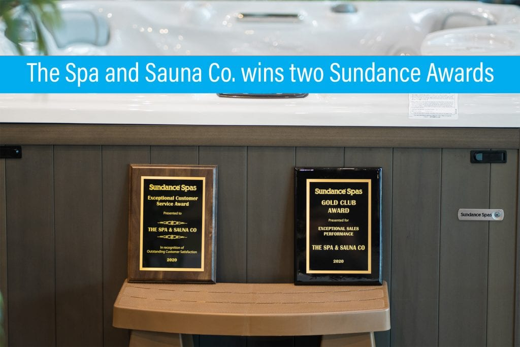 Spa and Sauna wins Sundance Spa Awards