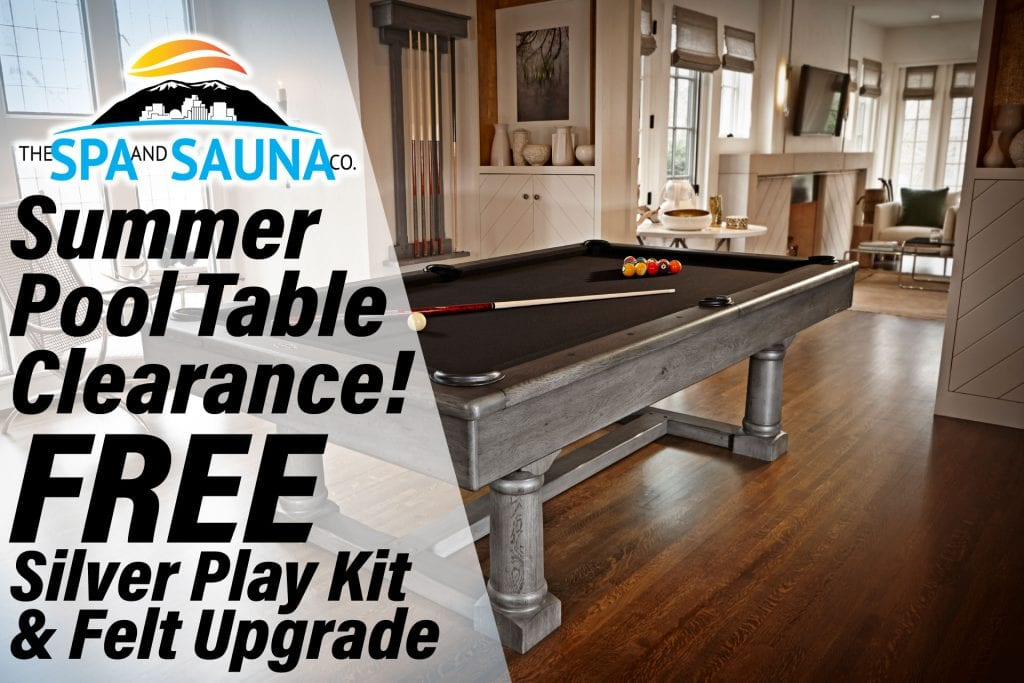 Summer Pool Table Sale in Reno and Sparks