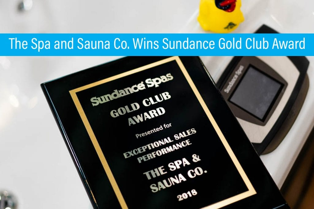 Spa and Sauna Co wins award