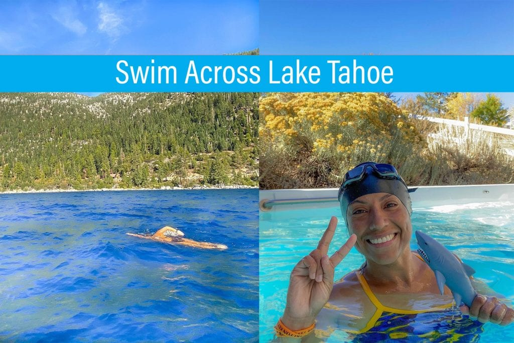 Swim Across Lake Tahoe - How to Train in an Endless Pools Swim Spa