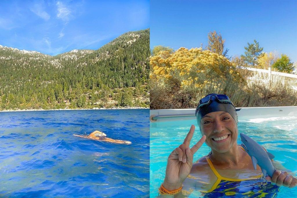 Swim Across Lake Tahoe Photo