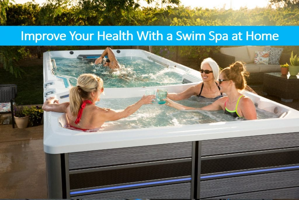 Improve Your Health With an Exercise Spa at Home – Swim Spa Dealer Reno
