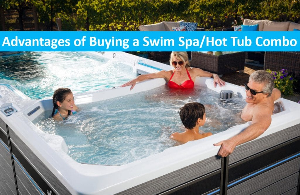 Advantages Of Buying A Combination Lap Pool And Hot Tub Swim Spas Capitola