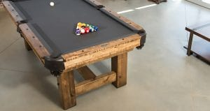 Timber ridge pool table