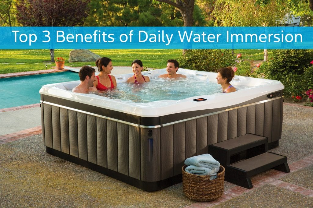 Top 3 Benefits of Daily Water Immersion