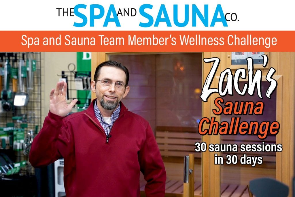 Spa and Sauna Team Member's Wellness Challenge