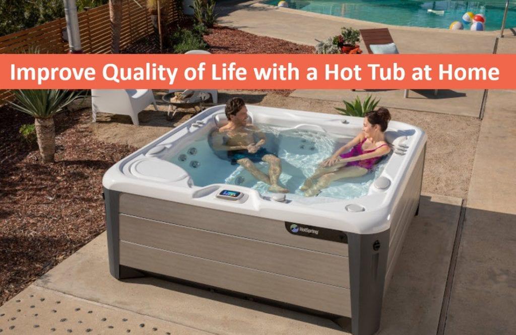 Improve Quality of Life with a Backyard Spa, Hot Tubs Palo Alto