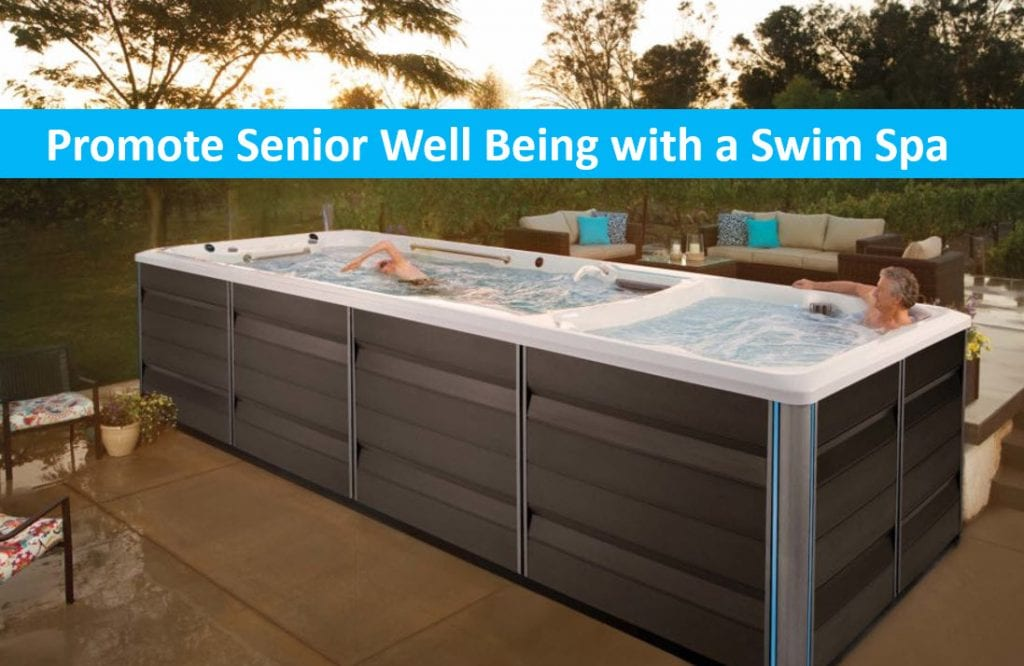 Promote Senior Well Being with a Swim Spa at Home, Lap Pool Sale San Jose, Santa Cruz