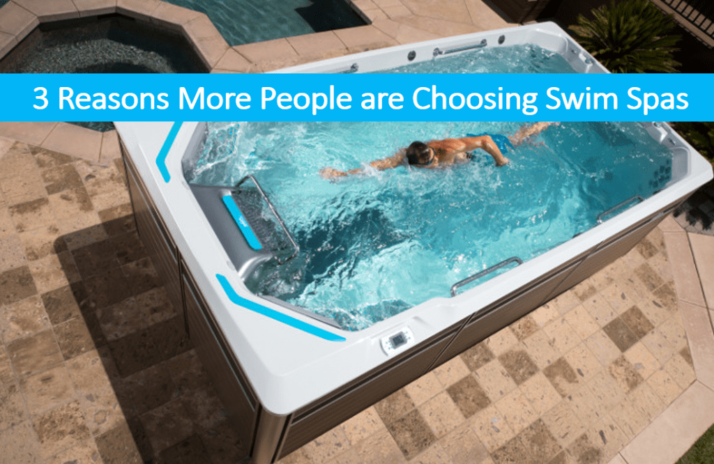 3 Reasons More People are Choosing Swim Spas, Swim Spa Sale Near Me Lake Tahoe